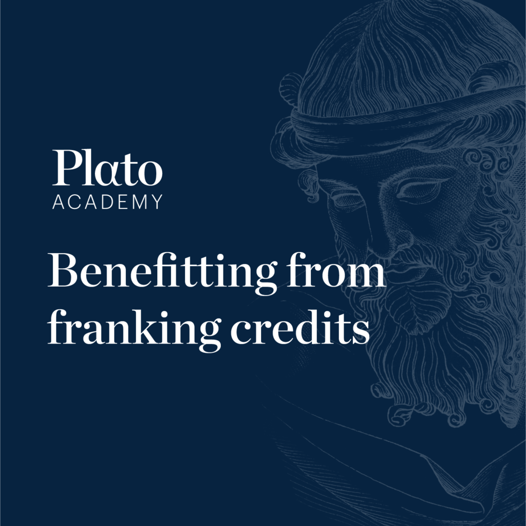 Benefitting from franking credits